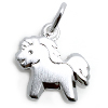 Kinderschmuck Halskette süßes Pferd mit Kette Silber