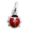 Kinderschmuck Halskette Käfer mit KetteSilber