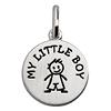 Kinderschmuck Little Boy mit Kette Silber