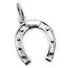 Kinderschmuck Halskette Hufeisen mit Kette Silber