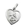 Halskette Herz Engel Gott schütze Dich mit Kette Silber