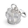 Charm Bettelarmband Krone 925er Silber